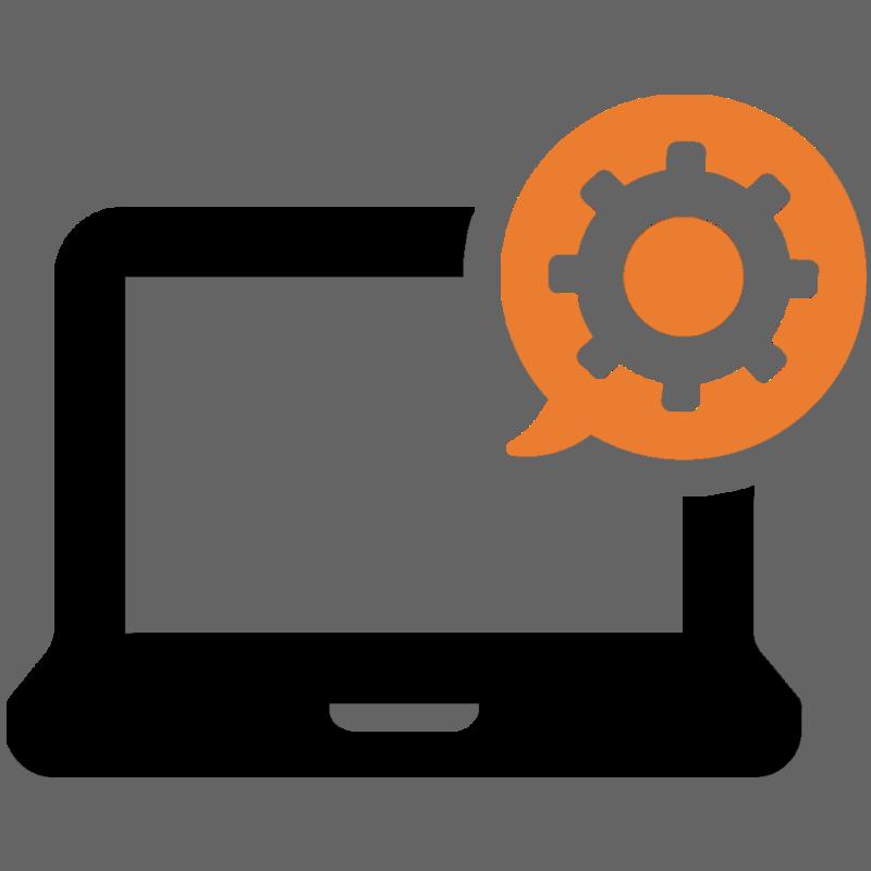 kannettava tietokone, jonka ruudulla Paha Digitalin logo